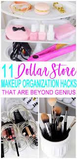 dollar makeup organization ideas