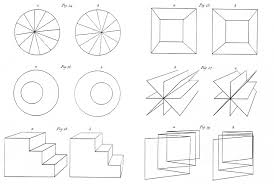 wheatstonedrawings the very first stereoscopic drawings