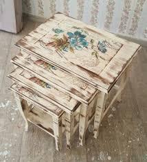 decoupage ideas for furniture.