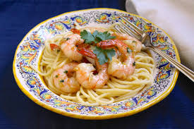 Seafood Pasta with Shrimp and Scallops ...