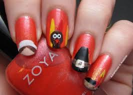 40 Beautiful Thanksgiving Nail Art Designs For Fall Season ...