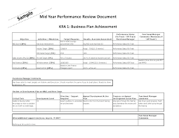 Sample Employee Performance Appraisal Sample Employee Performance Review Template