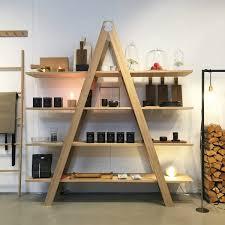 Raumgestalt Ladder Shelf Oak