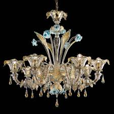 colosseo murano glass chandelier