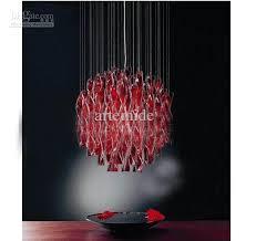 x best red chandelier