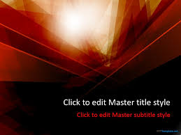 Red Ppt Free Dark Red Ppt Template