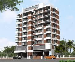Modern Apartment Building - Modern apartment building facade