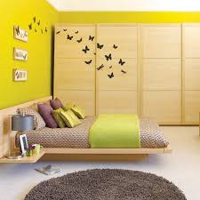 small bedroom wall color ideas. Outsized Your Space With These Inspiring Wall Colors For Small Rooms : Bedroom Yellow Color Ideas