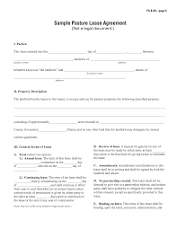 Rent Lease Form Template Examples Simple Rental Agreement Sample_8 ...