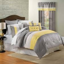 cool yellow grey bedroom concept
