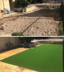 artificial turf yard. Image May Contain: Grass And Outdoor Artificial Turf Yard