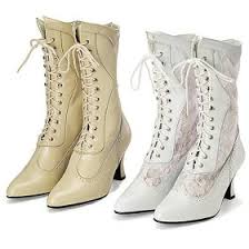 stevie nicks style & where to buy it Victorian Wedding Boots For Sale vintage lace up wedding boots Victorian Ladies Boots