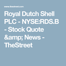 Nyse Quotes Mesmerizing Royal Dutch Shell PLC NYSERDSB Stock Quote News TheStreet