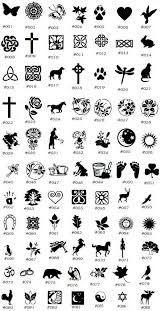 Scottish Symbols And Meanings Chart 10 Explicit Symbols And Meanings Chart