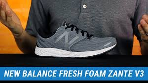 new balance fresh foam zante. new balance fresh foam zante v3 | men\u0027s fit expert review 2