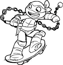 Teenage Ninja Turtles Coloring Pages Expensive Ninja Turtles Color