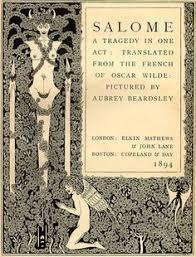 oscar wilde salome ilrated by aubrey beardsley