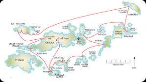 Bvi Navigation Charts Tortola Bvi Itinerary Virgin Island Sailing Ltd