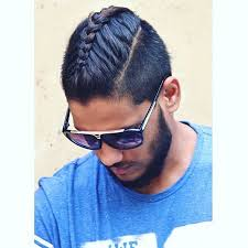 Braid Length Chart 50 Cool Man Braid Hairstyles For Men The Trend Spotter