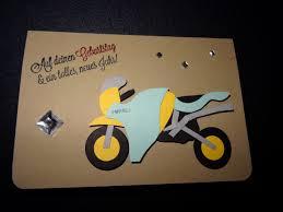 Geburtstagskarte 50 Frau Best Motorrad Geburtstagskarte Stampin Up