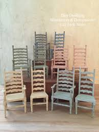 minature doll house furniture. French Provencal Miniature Arm Chair Dollhouse With Regard To Wooden Furniture Minature Doll House