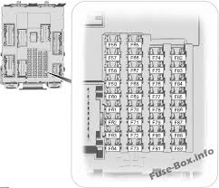 ford escape (2013 2018) \u003c fuse box diagram ford escape fuse box diagram manual fuse box diagram (passenger compartment)