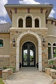 arched double front doors. Austin Double Entry Doors With Traditional Outdoor Wall Lights And Sconces Mediterranean Arched Enclosed Balcony Front