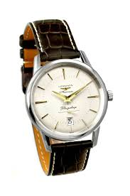 buy longines l4 795 4 78 2 flagship heritage mens watch £884 00 longines l4 795 4 78 2 flagship heritage mens watch