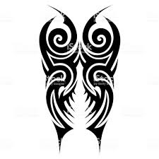 Tattoos Ideas Swirl Designs Tribal Tattoo Pattern Vector Illustration Stock Illustration Download Image Now