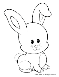 Bunny Coloring Pictures Bunny Coloring Page Wallpaper Chocolate