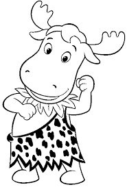 Small Picture Backyardigans Coloring Pages