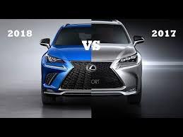 2018 lexus nx 300 f sport. wonderful lexus 2018 lexus nx vs 2017 to lexus nx 300 f sport