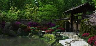 Japanese Garden Japanese Garden At Night Explore Gardens To Decorating