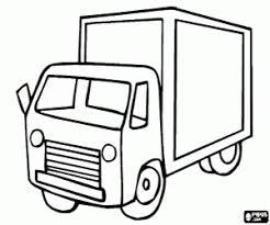 Kleurplaat Vrachtauto Kleurplaten