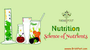 Nutrition Science Of Nutrients Basics