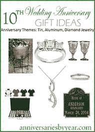 10th wedding anniversary 10th anniversary gift ideas