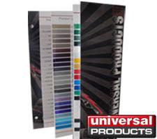 Universal Products Vinyl Color Chart Vehicle Graphics Vinyl Striping Color Chart