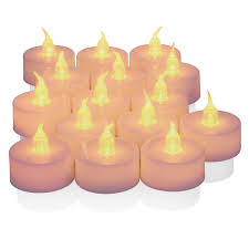 Fake Tea Lights Ebay Details About 25x Led Pillar Realistic Tea Light Flameless Flickering Candle Battery Operated