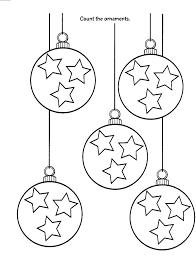 Kleurplaten Van Kerstballen
