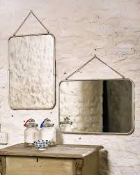 mirror on chain. hanging-mirror-with-chain-landscape-frame-w-57cm- mirror on chain n