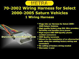 2005 saturn vue radio wiring harness 2005 image saturn vue radio wiring harness 70 2002 metra 17 95 shipping 00 05 ion vue sc1 2 sw1 sl l