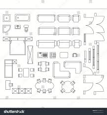 drawing furniture plans. Architectural Drawing For Planning Construction And Home Improvement. Symbols Used Furniture Architecture Plans Icons S
