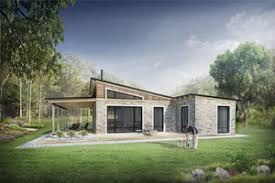 Signature Modern Exterior - Rear Elevation Plan #924-3