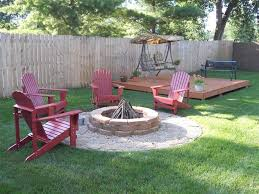 For Those Of Us Who Canu0027t Afford A Real Deck Backyard Idea Can I Build A Fire Pit In My Backyard