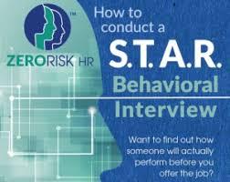 Star Interview Techniques Behavioral Interview Technique Star Method