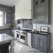 Gray Kitchen Shaker Style Kitchen Cabinet Painted In Benjamin Moore 1475