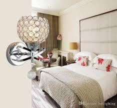 Bedroom Wall Sconce Simple Popular Crystal Wall Lights Washing Room China Online Shop Modern
