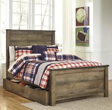 Tate Rustic Look Full Panel Bed with Under Bed Storage/Trundle by Signature Design by Ashley at Rotmans