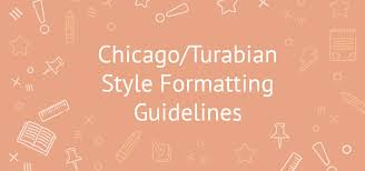 chicago turabian style formatting guidelines