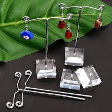 Earring Display Stand Diy Diy jewelry display rack acrylic earring rack earrings frame 4
